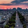Paris, Avenue De La Grande Armee by Patrice Bilesimo