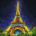 Paris By Night by Dragica  Micki Fortuna