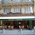 Paris Cafe Bistro Vivienne - Paris Cafes Bistro Restaurant-paris Cafe Galerie Vivienne by Kathy Fornal