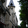 Paris Church 2 by Jennifer McDuffie