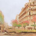 Paris, City Of Lovers by Sergey Lukashin