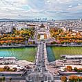 Paris City View 19 Art by Alex Art and Photo