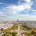 Paris City View 20 B by Alex Art and Photo