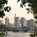Paris Cityscape Across The Water by Dawn Crichton