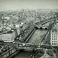 Paris Cityscape Bw by Joan Carroll