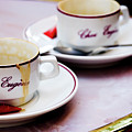 Paris Coffee Cups by David Chasey
