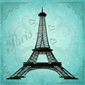 Paris Collage by Jim And Emily Bush