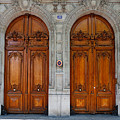 Paris Doors by Louise Heusinkveld