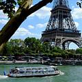Paris Eiffel Boat by August Timmermans