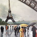 Paris Fog by Kathy Brusnighan