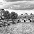 Paris In Black And White by Gigi Ebert