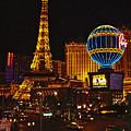 Paris In Las Vegas-nevada by Ruth Hager