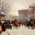 Paris In Winter by Fausto Giusto
