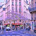 Paris Intersection by Allen Beatty