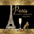 Paris Is Always A Good Idea - Audrey Hepburn by Audrey Jeanne Roberts