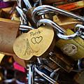 Paris Love Locks Paris France Color by Toby McGuire