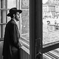 Paris Man In Muesum by Louis Dallara