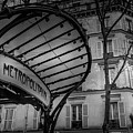 Paris Metro Abbesses by Georgia Fowler