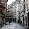 Paris Neighborhood Marais - No Right Turn 1 by Jani Freimann