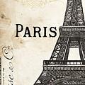 Paris, Ooh La La 1 by Debbie DeWitt