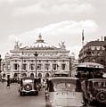Paris Opera 1935 Sepia by Andrew Fare