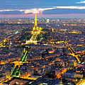 Paris Panorama by Andre Distel