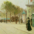 Paris by Paul Cornoyer