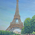 Paris Eiffel Tower by Renato Maltasic
