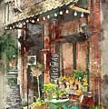 Paris Restaurant 5 - By Diana Van by Diana Van
