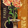 Paris Roses by Irina Sztukowski