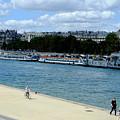 Paris Seine Stroll by August Timmermans