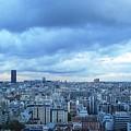 Paris Skyline At Sunset France by John Shiron