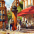 Paris, Street Musicians by Roman Fedosenko