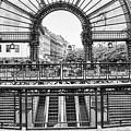 Paris Subway Station by Dave Beckerman