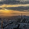 Paris Sunset by Myroslav Dvornyk