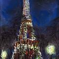 Paris Tour Eiffel by Yuriy  Shevchuk