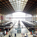 Paris Train Station by Al Blackford