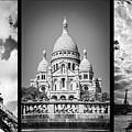 Paris Triptych by Delphimages Photo Creations