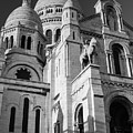 Paris Visit To Sacre Coeur Cathedral by Miguel Winterpacht