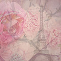 Parisian Romantic Collage by Leah McPhail