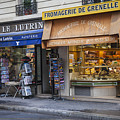 Parisian Shops by Timothy Johnson