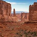 Park Avenue Arches National Park by Lumiere De Liesse Ltd Images of Robert L Lease