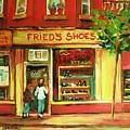 Park Avenue Shoe Store by Carole Spandau