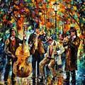 Park Band  by Leonid Afremov