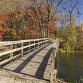 Park Bridge Autumn 2 by John Brueske