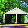 Park Covered Bridge by Stan Hamilton