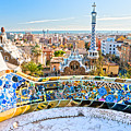 Park Guell Barcelona by Luciano Mortula