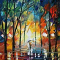 Park by Leonid Afremov
