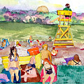 Park Side Beaches by Mindy Newman
