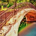 Park Walk Bridge by Jerry Bernard